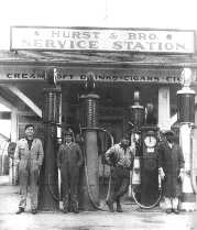 Hurst & Brother Station - 1929